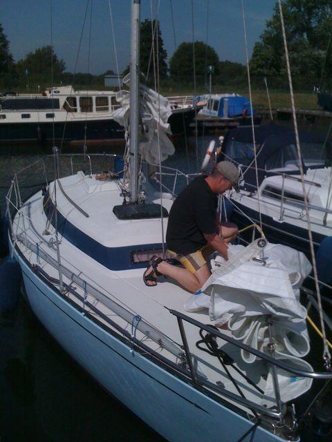 Voorbereidingen 24-uurs IJsselmeer