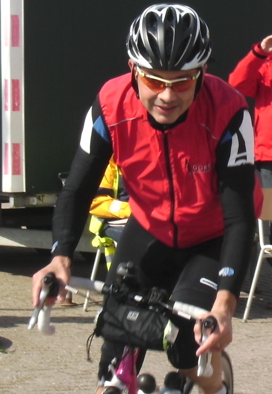 Vest Schuttevaer team - Wielrenner Gerrit Dekker