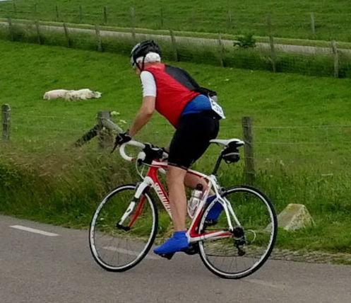 De eenzame fietser