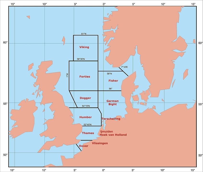 Noordzeedistricten