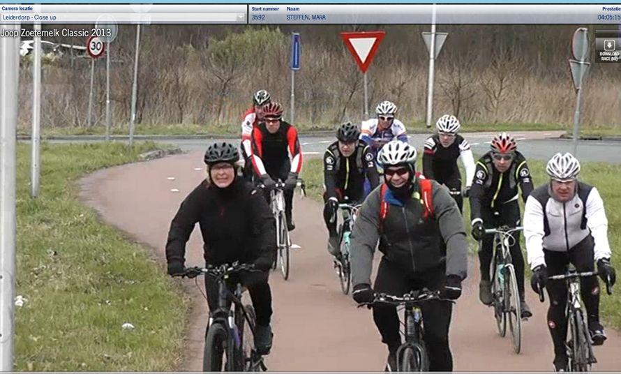 Hans & Mara rijden Leiderdorp binnen.