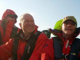 Koen, Hans en Tinus