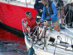 Start 55 km Texel etappe, Gerrit