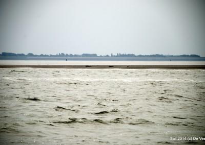 Van Texel naar de Stevin sluizen.